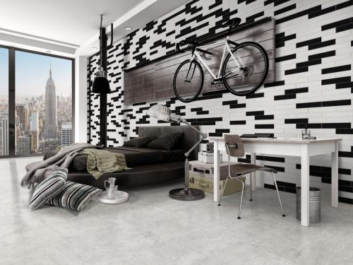 Ambiente ModernTrend Black-White Mix´ÇóXtreme Ice
